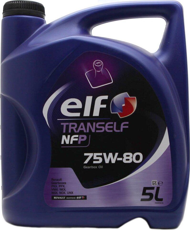 Масло трансмиссионное синтетическое TRANSELF NFP 75W-80 5л