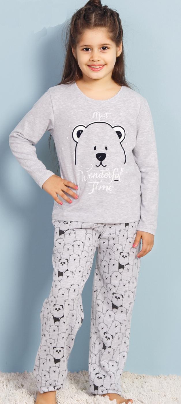 Комплект одежды Vienetta комплект домашний для девочки vienetta s secret овечка брюки лонгслив цвет фисташковый 403309 4434 размер 140 10 лет