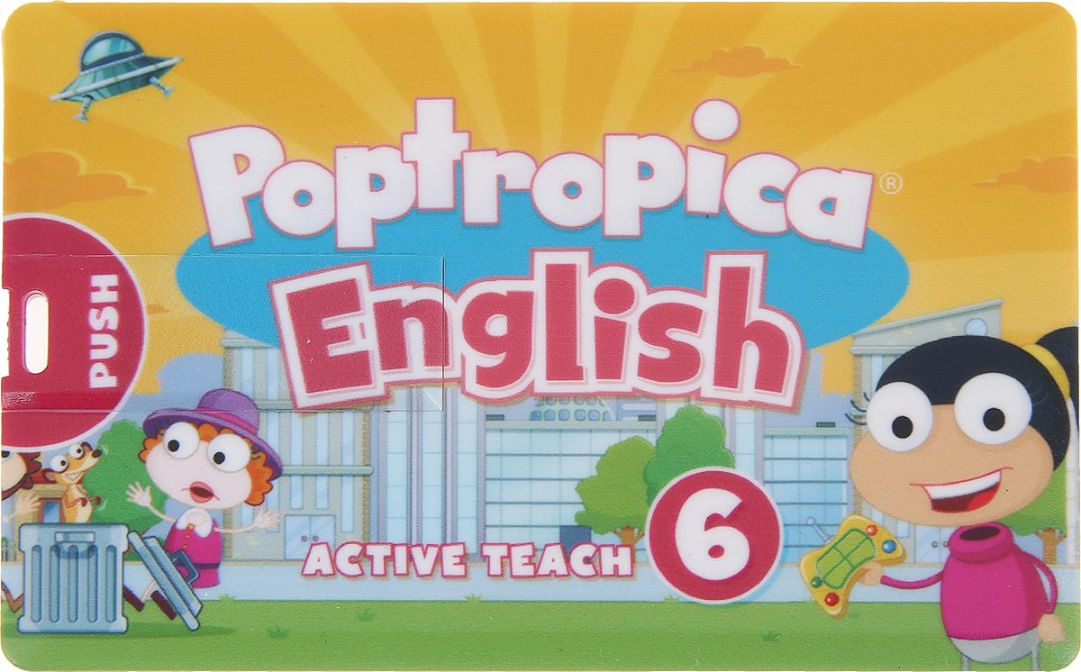 лучшая цена Poptropica English Islands 6 Active Teach USB