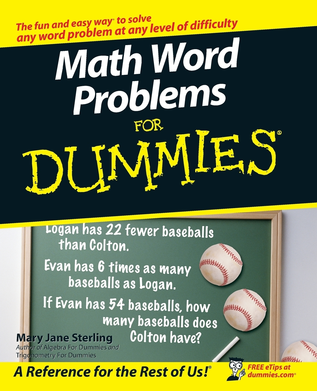 Фото - Mary Jane Sterling Math Word Problems for Dummies dan gookin word 2007 for dummies