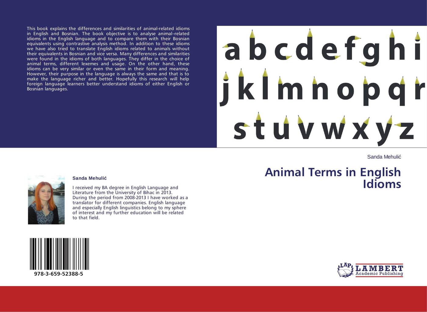Sanda Mehulić Animal Terms in English Idioms все цены