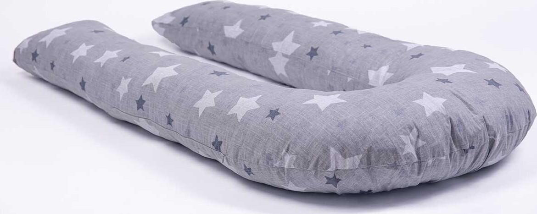 Хлопковая наволочка на подушку для беременных MommyPillow U 360 см Хлопковые звезды