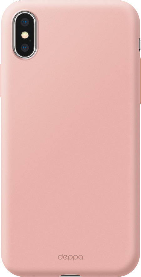 Чехол Air Case для Apple iPhone XS Max, розовое золото, Deppa все цены