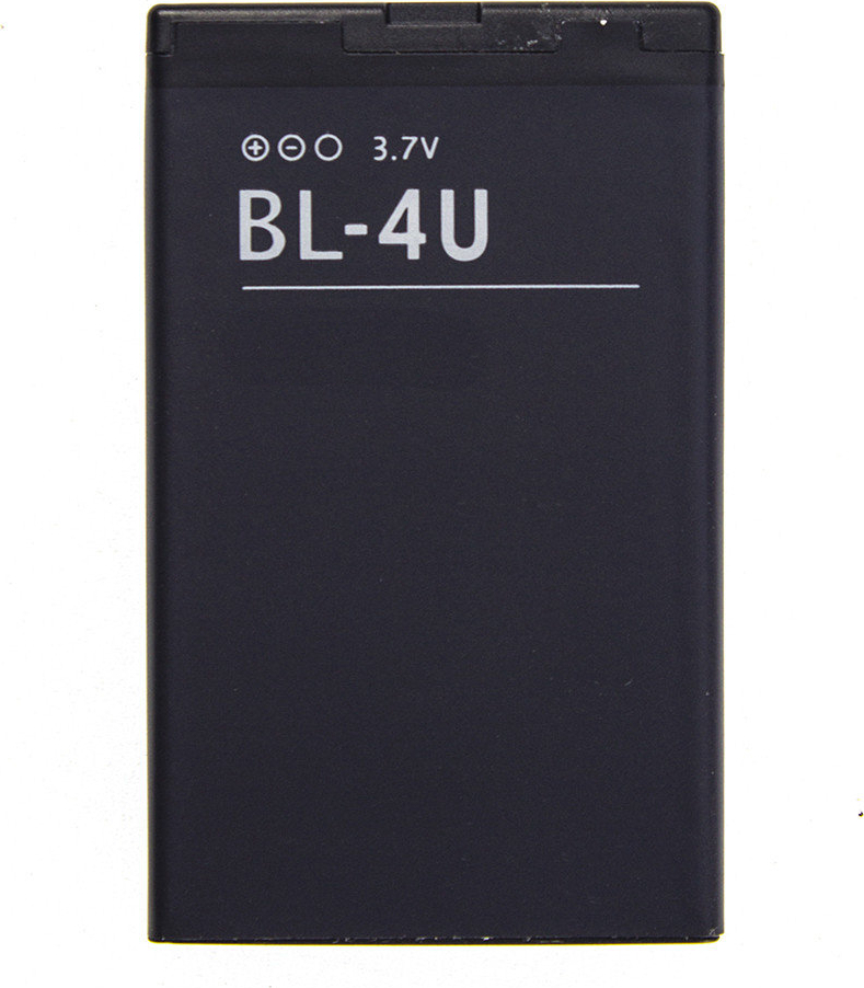 Аккумулятор BL-4U для Nokia 3120 classic, 5250, 5330 Mobile TV Edition, 5330 Xpress Music, 5530 Xpress Music, 5730 Xpress Music, 6212 classic, 6216 classic, 6300i, 6600 slide, 6600i slide, 8800 Arte, 8800 Carbon Arte, 8800 Gold Arte, 8800 Sapphire Arte...