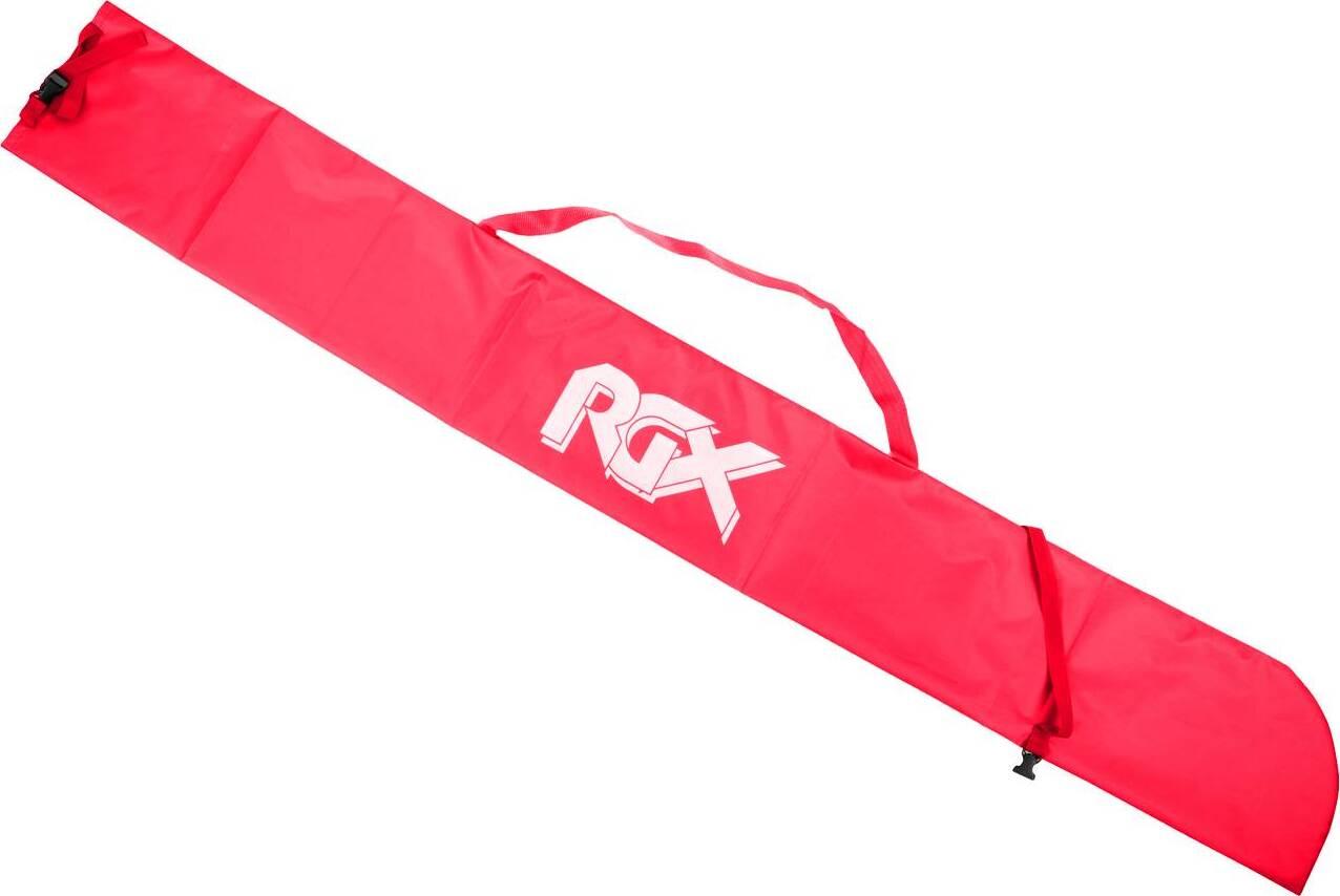 Чехол для одной пары лыж с палками RGX SB-001 красный 185 см.