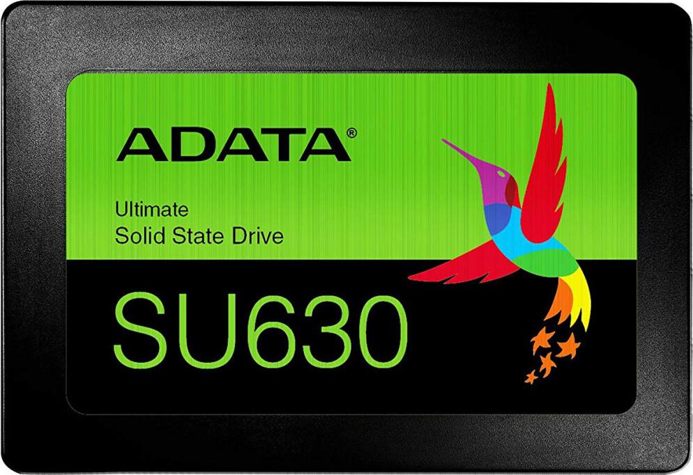 """SSD-Накопитель  A-Data  240GB  Ultimate SU630SS, SATA-III, R/W - 520/450 MB/s, 2.5"""", QLC 3D NAND"""