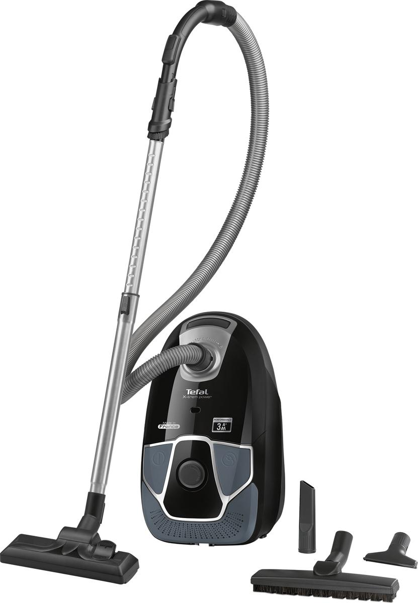 Пылесос Tefal X-Trem Power TW6856EA, черный