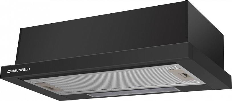 Встраиваемая вытяжка MAUNFELD VS LIGHT 50 черный Дизайн великолепно впишется в любой кухонный интерьер и благодаря...