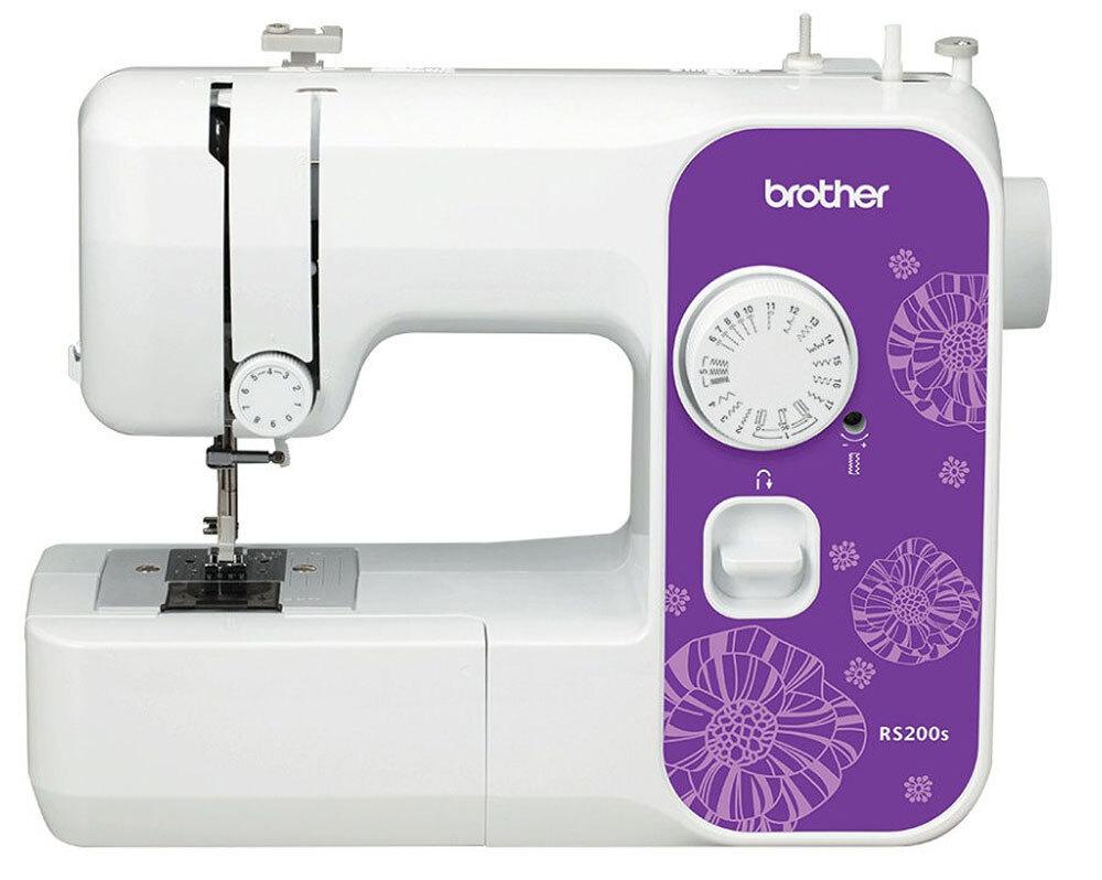 Швейная машина Brother RS-200S, цвет белый