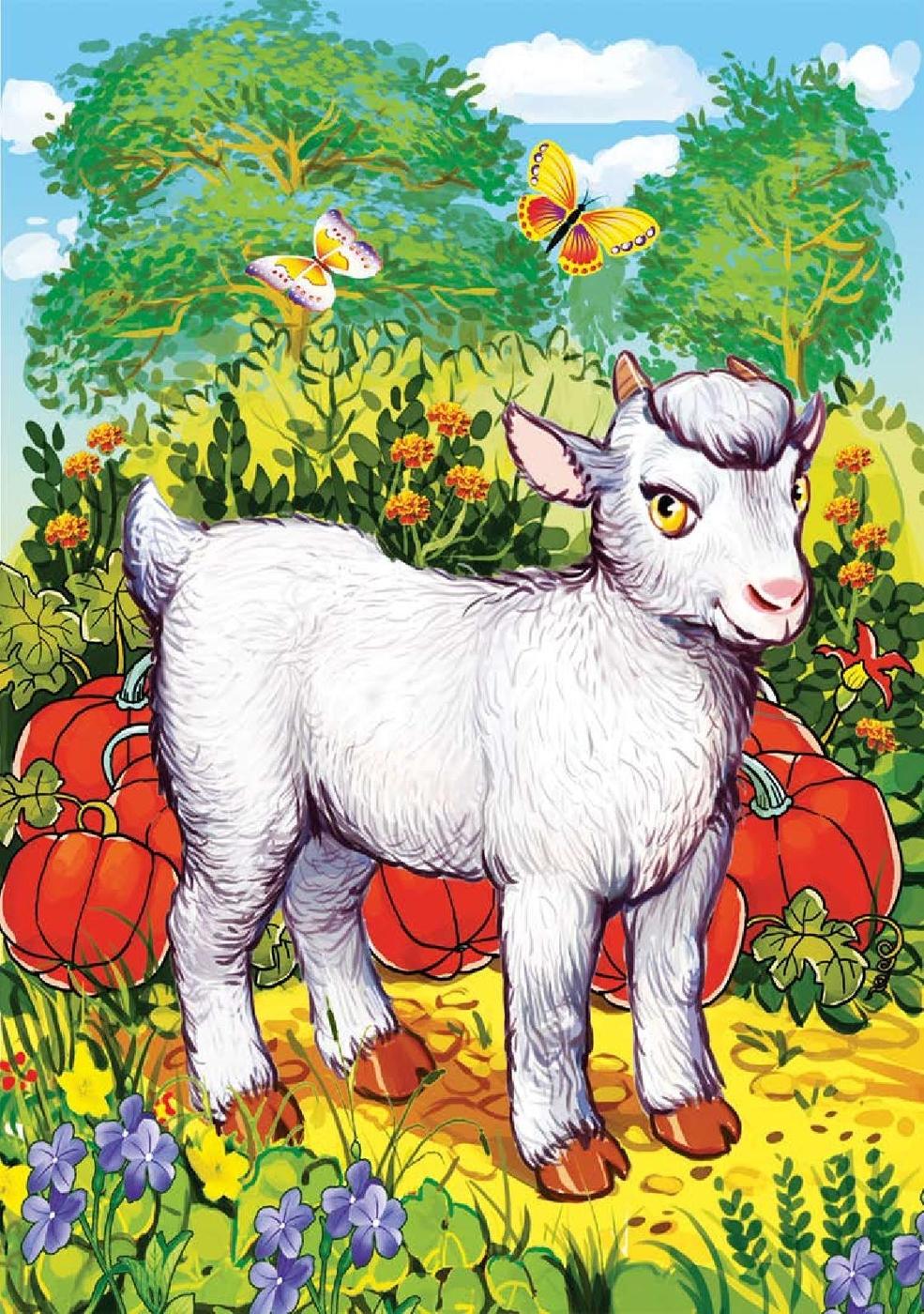 красный кружок картинка пазл коза что приняли решение