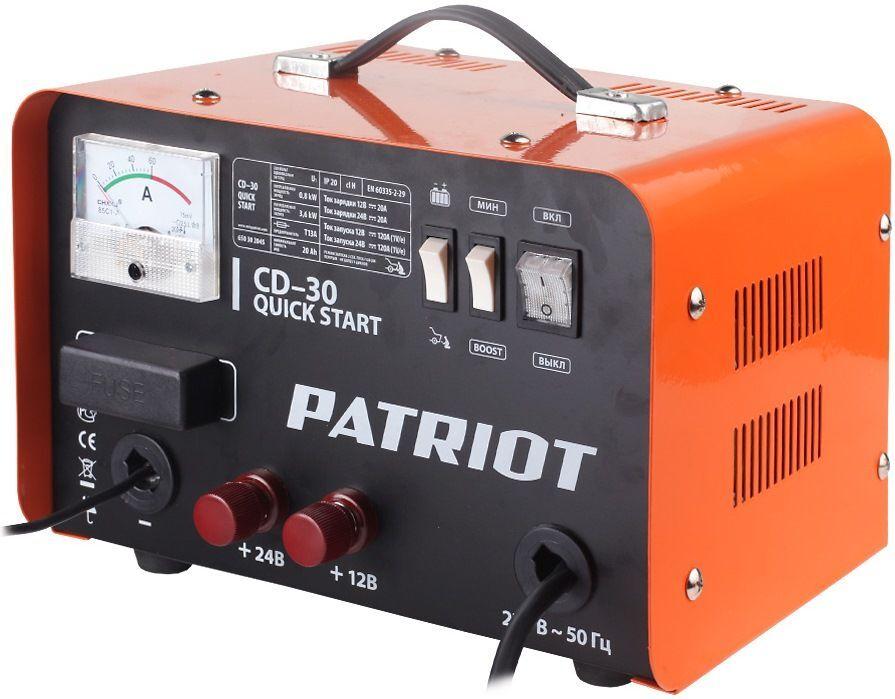 Пуско-зарядные устройства PATRIOT Quick start CD-30