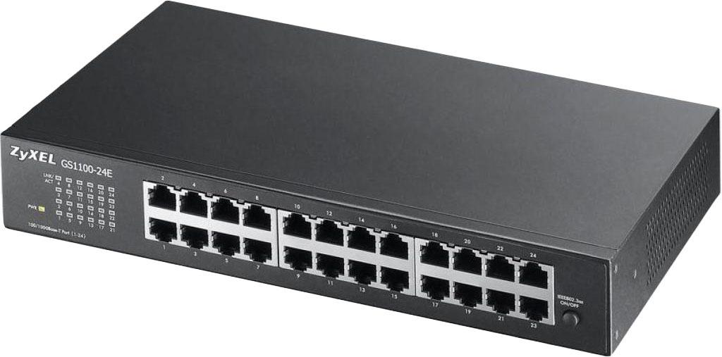 Коммутатор ZYXEL GS1100-24E (GS1100-24E-EU0101F)