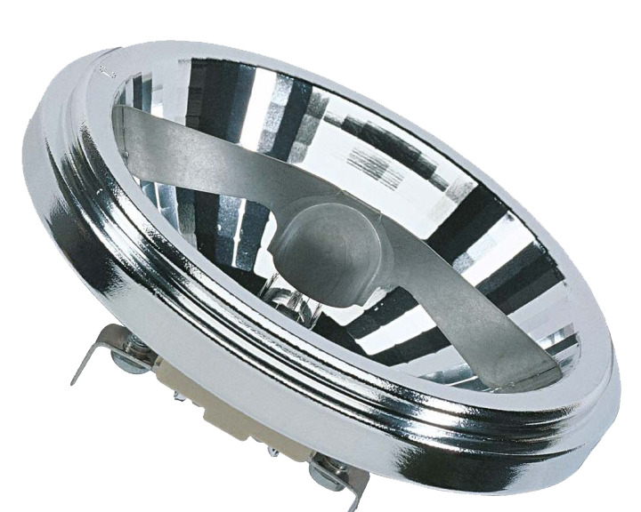 Лампочка Osram Halospot AR111, Теплый свет 100 Вт, Галогенная