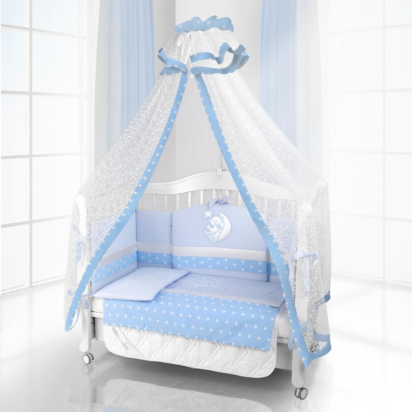 Комплект постельного белья Beatrice Bambini Unico Stella (125х65) - blu& blu