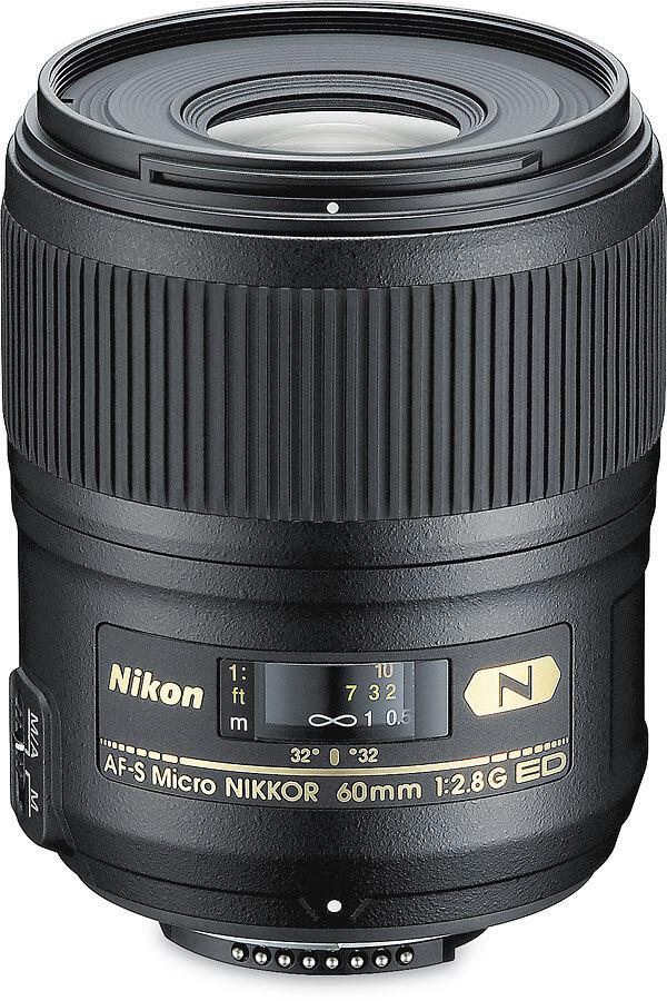 Объектив Nikon AF-S Micro Nikkor 60mm f/2.8G ED, черный