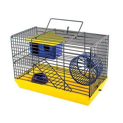 ДАРЭЛЛ 4020 ECO Клетка-мини ECO для грызунов с этажем, 27*15*16см (укомплект.), 340гр