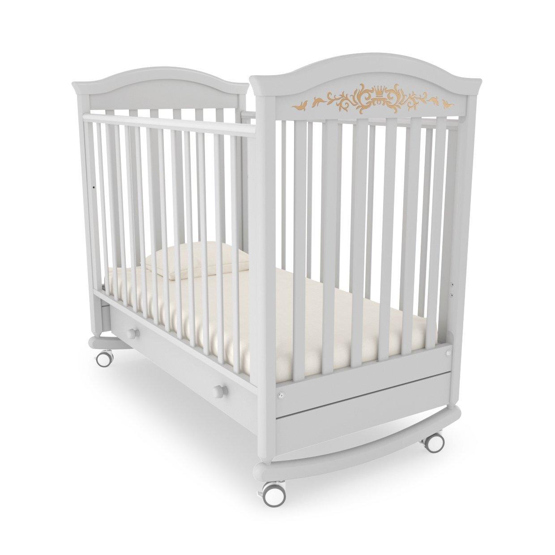 Кровать детская Гандылян Даниэль Люкс (белая ночь)