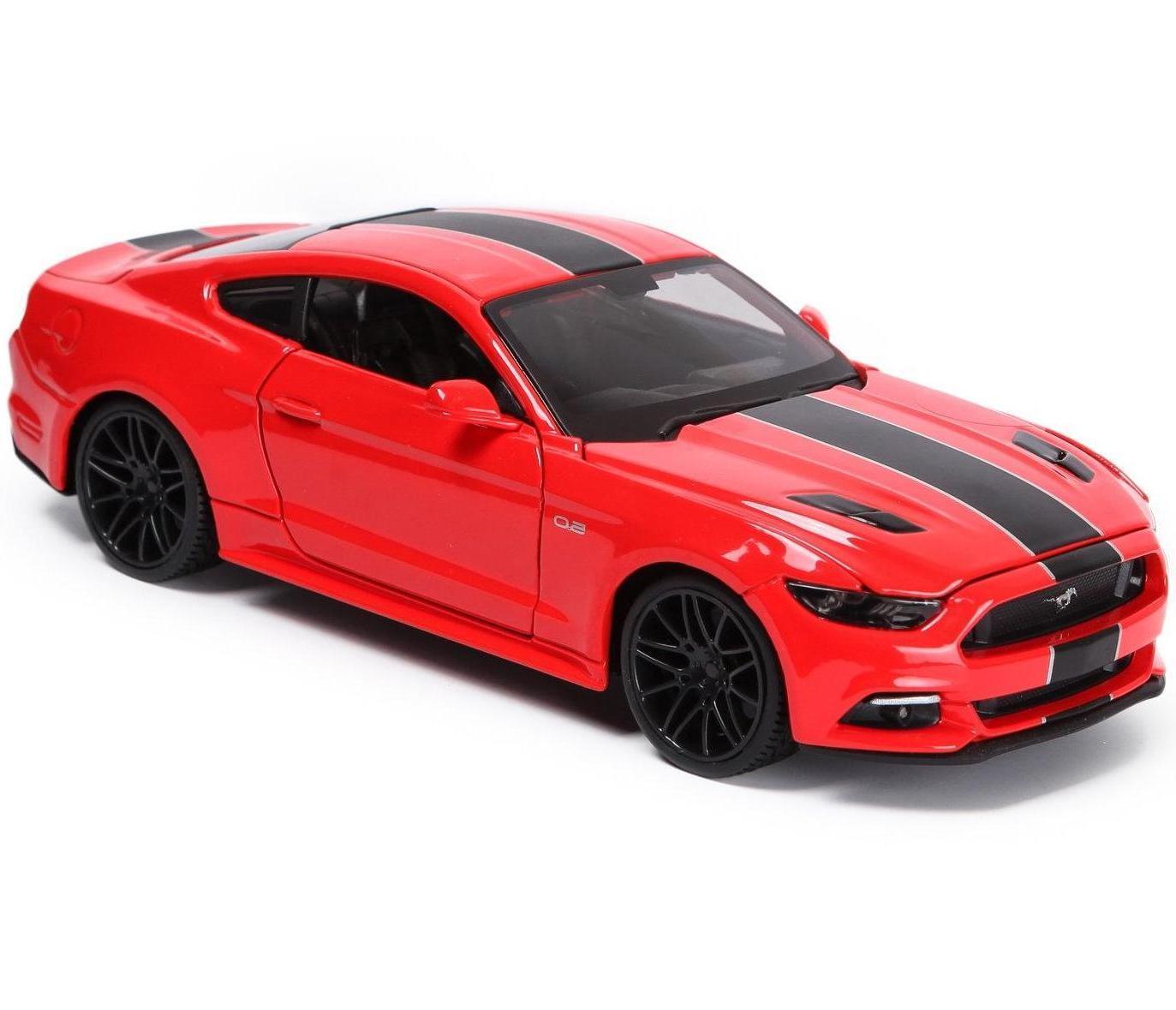 Машинка Maisto 1:24 Ford Mustang GT Год постройки 2015, красная