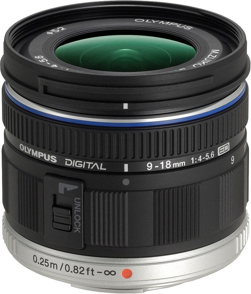 объектив olympus olympus zuiko digital ed 9-18mm 1:4.0-5.6 (ez-m918)