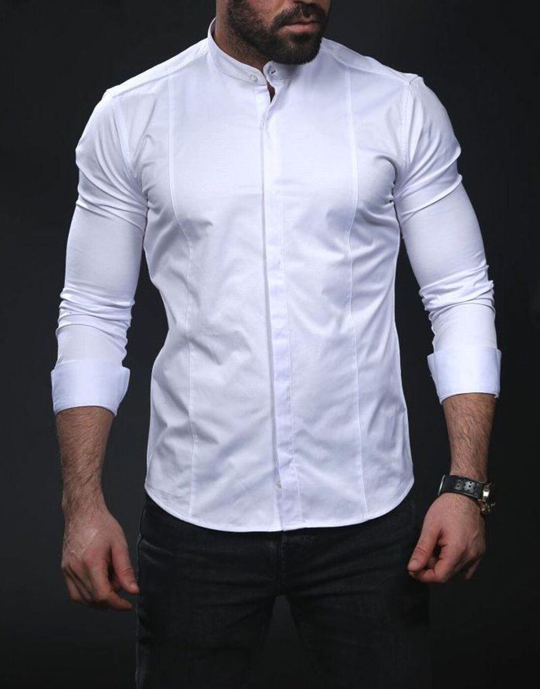 стильные рубашки для мужчин фото