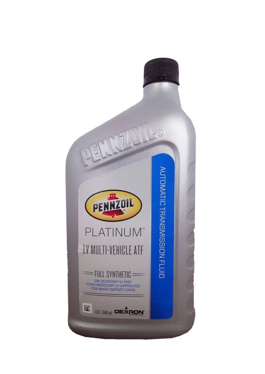 Трансмиссионное масло PENNZOIL Platinum LV Multi-Vehicle ATF (0,946л)