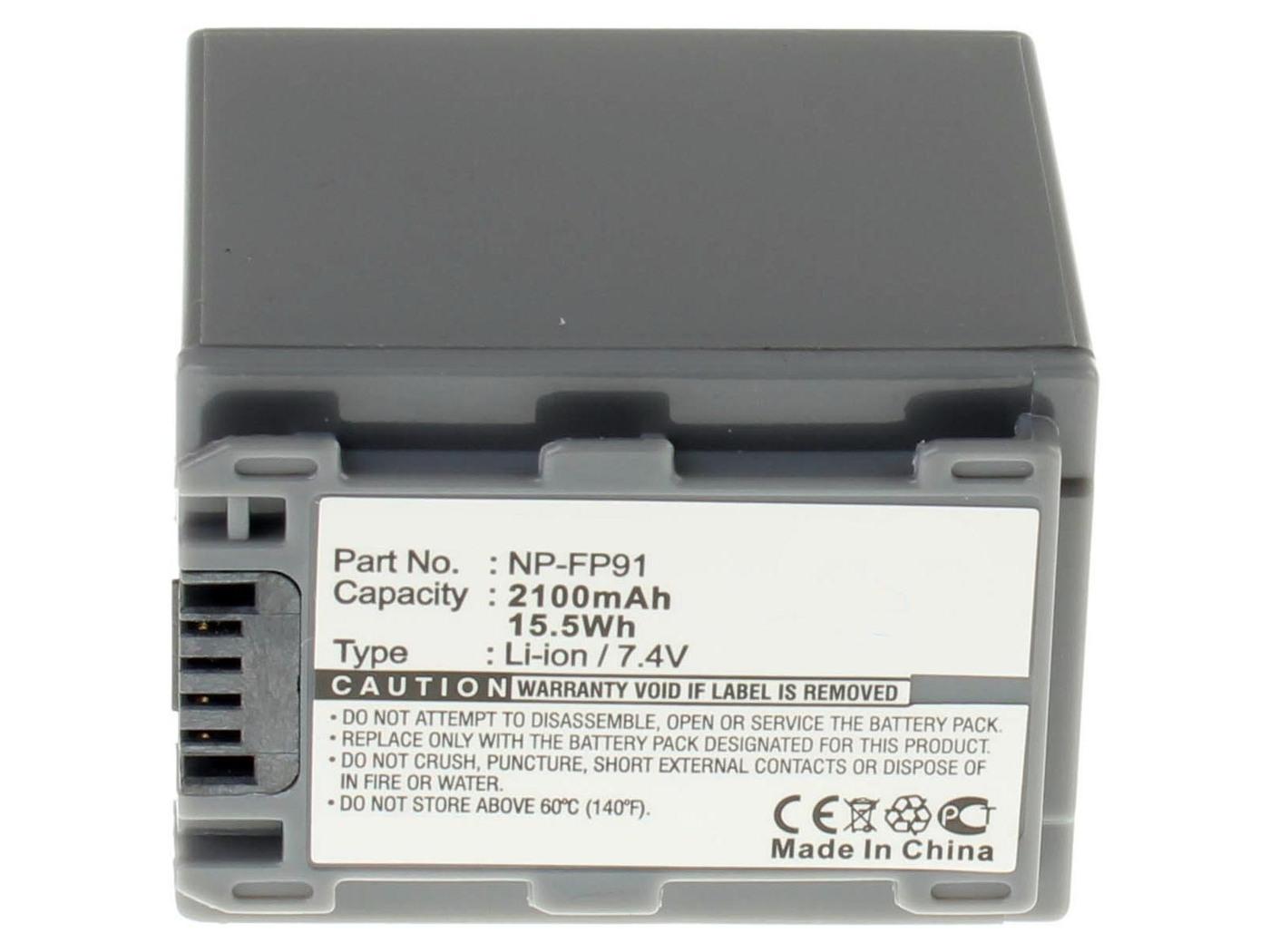 Аккумуляторная батарея iBatt iB-T1-F282 2300mAh для камер Sony HDR-HC3, DCR-SR60, DCR-HC23E, DCR-HC17E, DCR-HC26E, DCR-HC35E, DCR-HC30E, DCR-HC96E, DCR-HC18E, DCR-HC32E, DCR-HC19E, DCR-DVD105E, DCR-HC46E, DCR-HC42E, DCR-DVD405E, DCR-HC96, DCR-HC26,