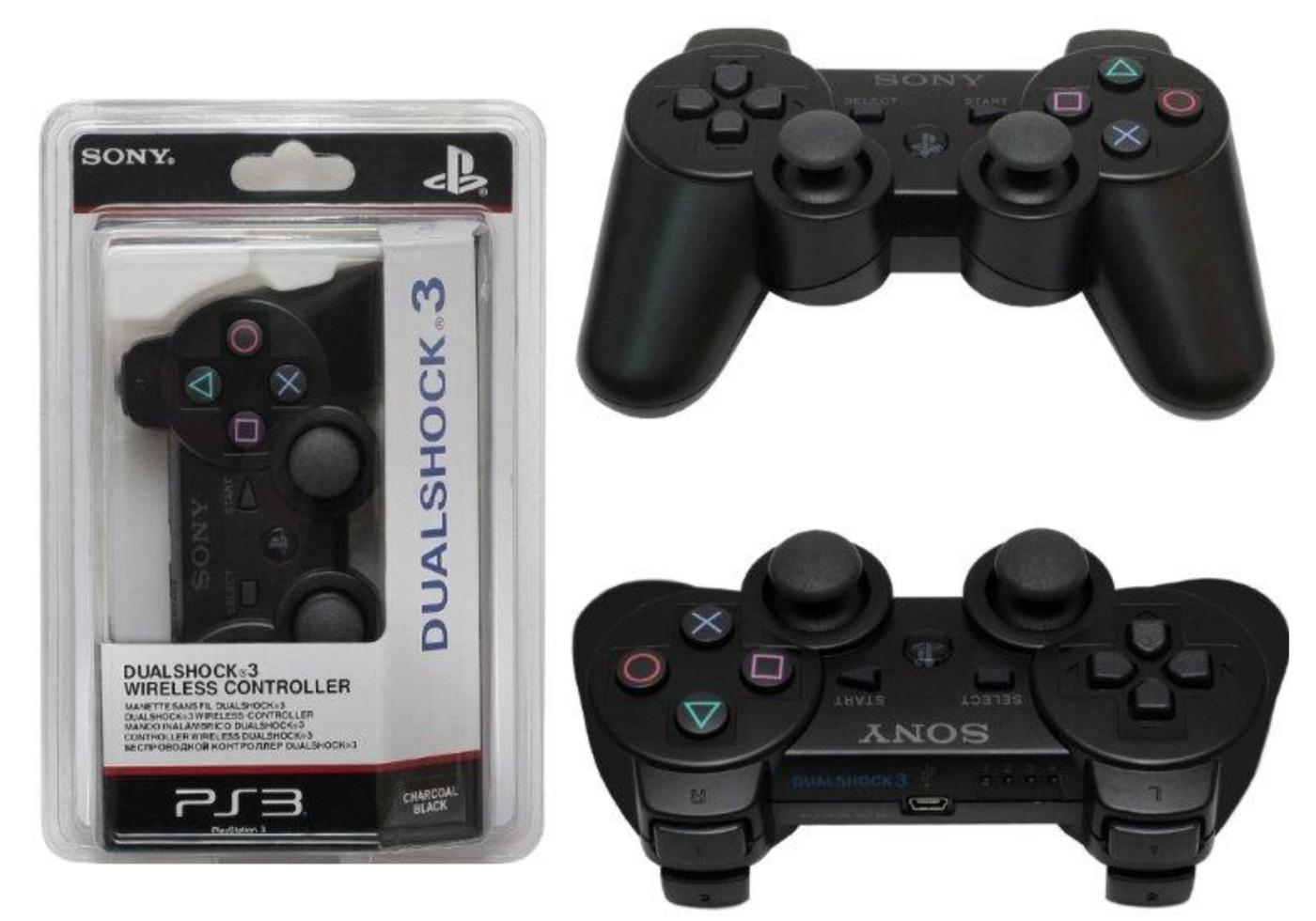 Джойстик Sony DualShock 3 для PS3 чёрный