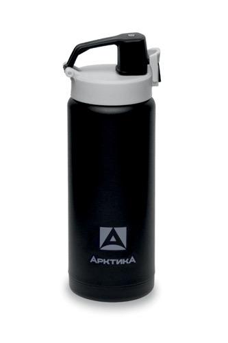 Термос-сититерм Арктика 702-500 (крышка с поилкой-фиксатором) 0,5 л, черный