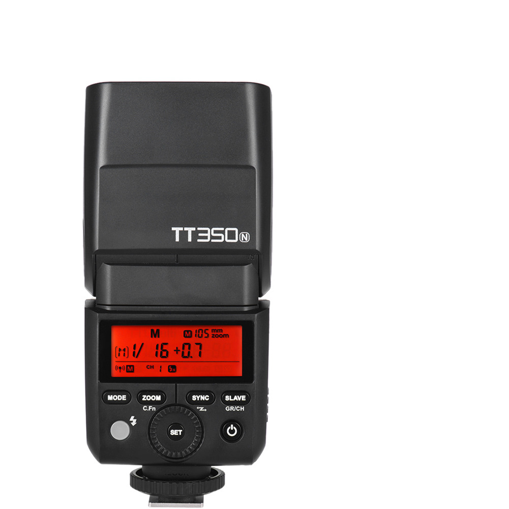 Godox Thinklite TT350N мини беспроводной TTL камера вспышка