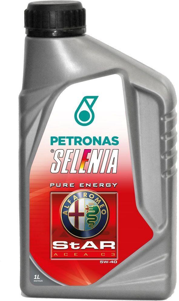 Моторное масло Selenia Star P. E., синтетическое, 5W-40, SM/CF, 1 л