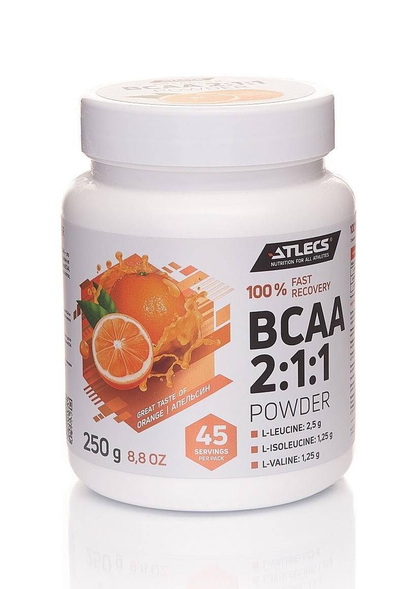 BCAA Atlecs BCAA 2.1.1, 250 g