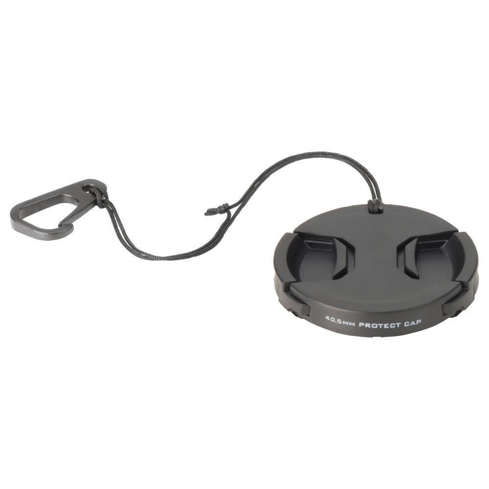 With HAKUBA lens cap lens protection cap 40.5mm dropout prevention hook KA-LCP405