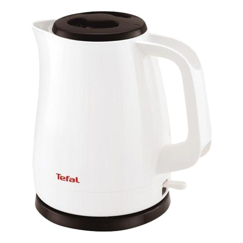 Электрический чайник Tefal KO 150130, белый, черный