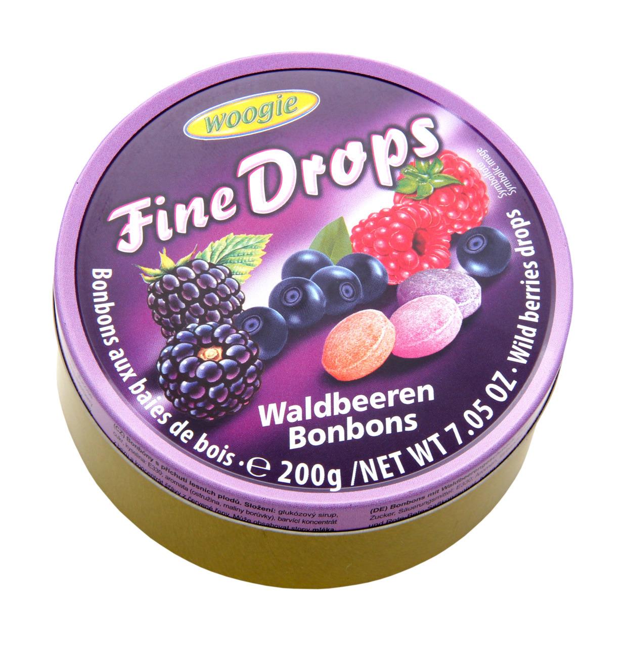 Карамель леденцовая со вкусом лесных ягод Woogie, 200 г