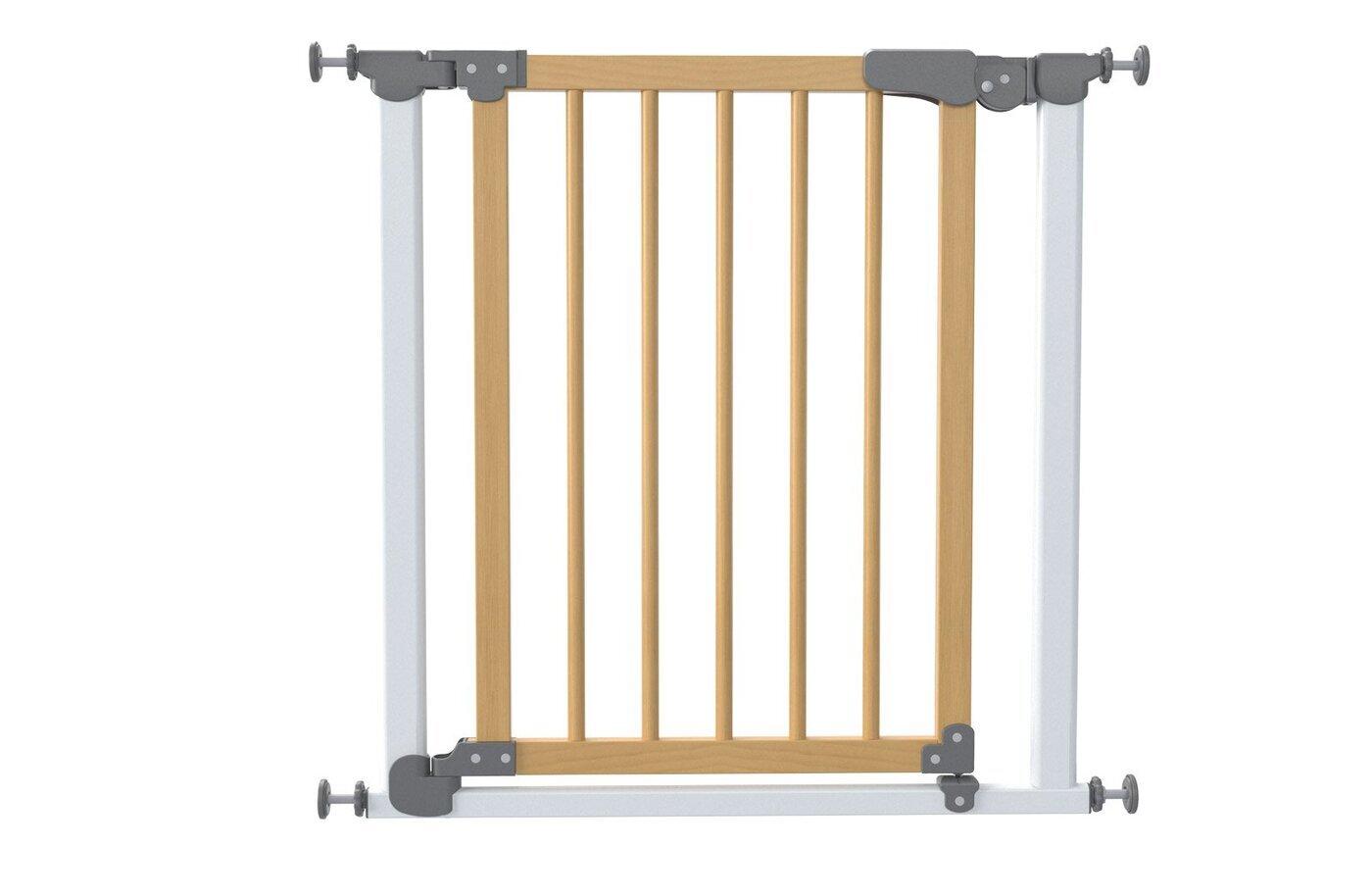 Ворота безопасности на распорках без доводчика Проем 82,5 - 90 cм, Safe & Care Дерево