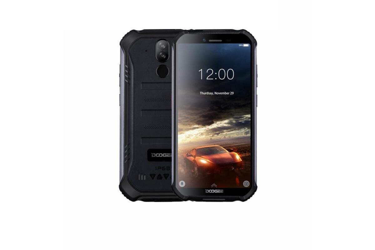 смартфон doogee s40 pro  4/64gb, минеральный черный