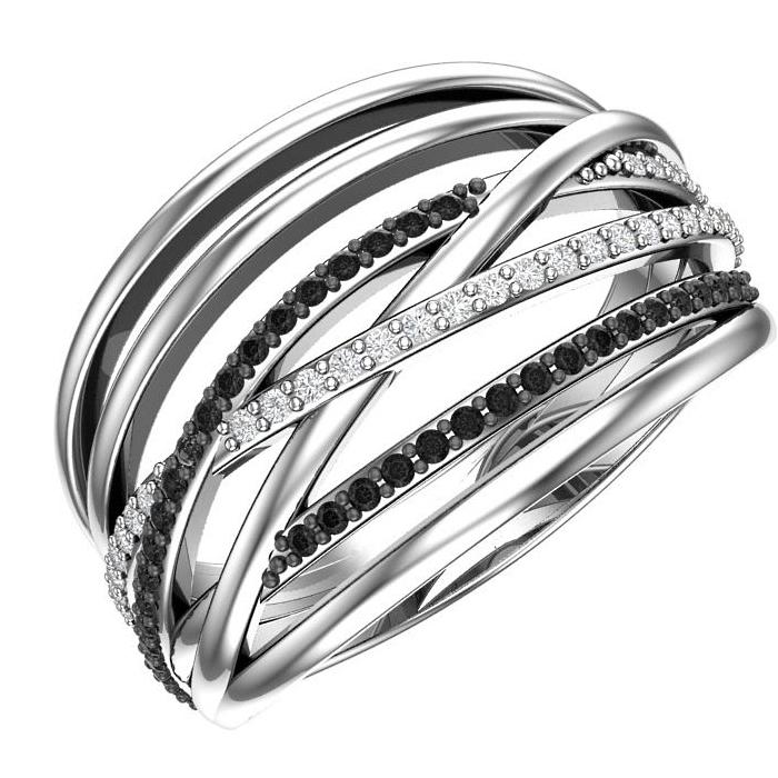 F-Jewelry Кольцо Серебряное