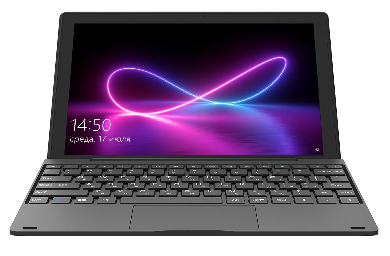 "планшет с клавиатурой digma 10 c412t, 10.1"", 128 gb"