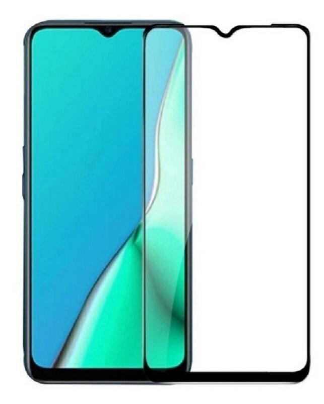 Защитное стекло для Realme C21 / для Реалми С21 / 21D на весь экран