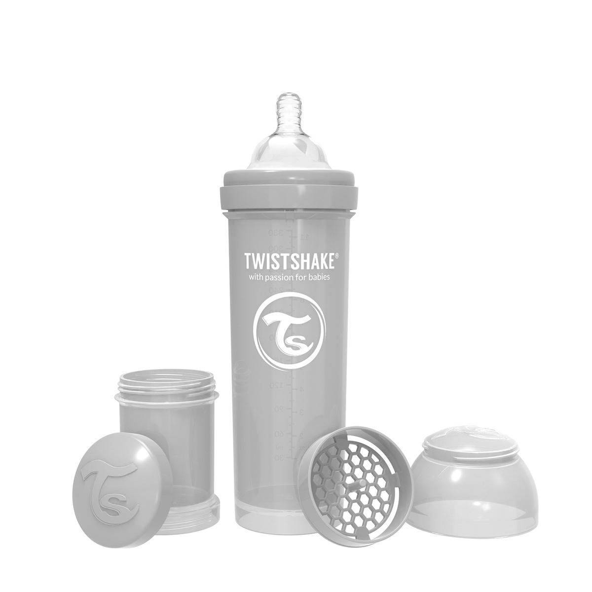 Антиколиковая бутылочка Twistshake для кормления 330 мл #1