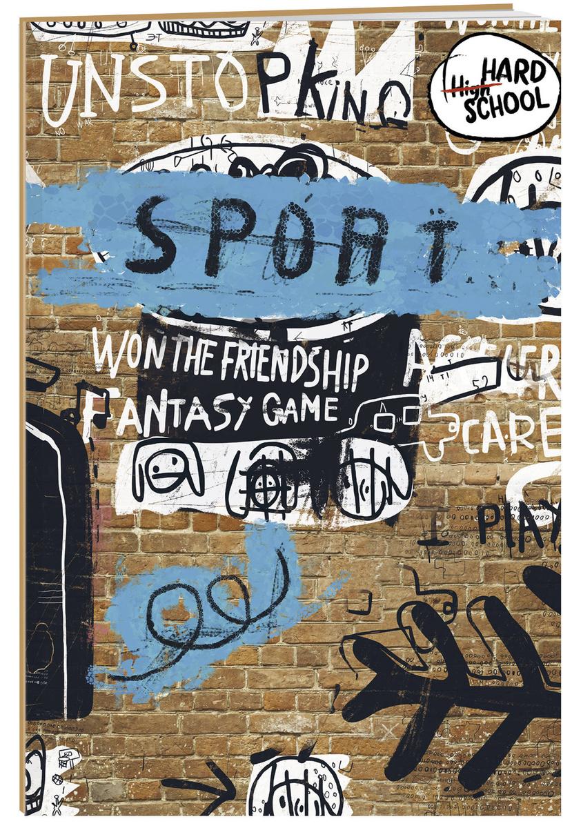(2019)Hard school. Граффити. Кирпич. Тетрадь школьная в мягкой обложке, 48 л. | Нет автора  #1