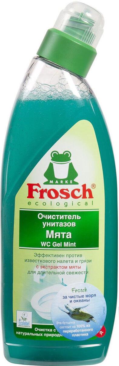 """Очиститель для унитазов """"Frosch"""", с ароматом мяты, 750 мл #1"""