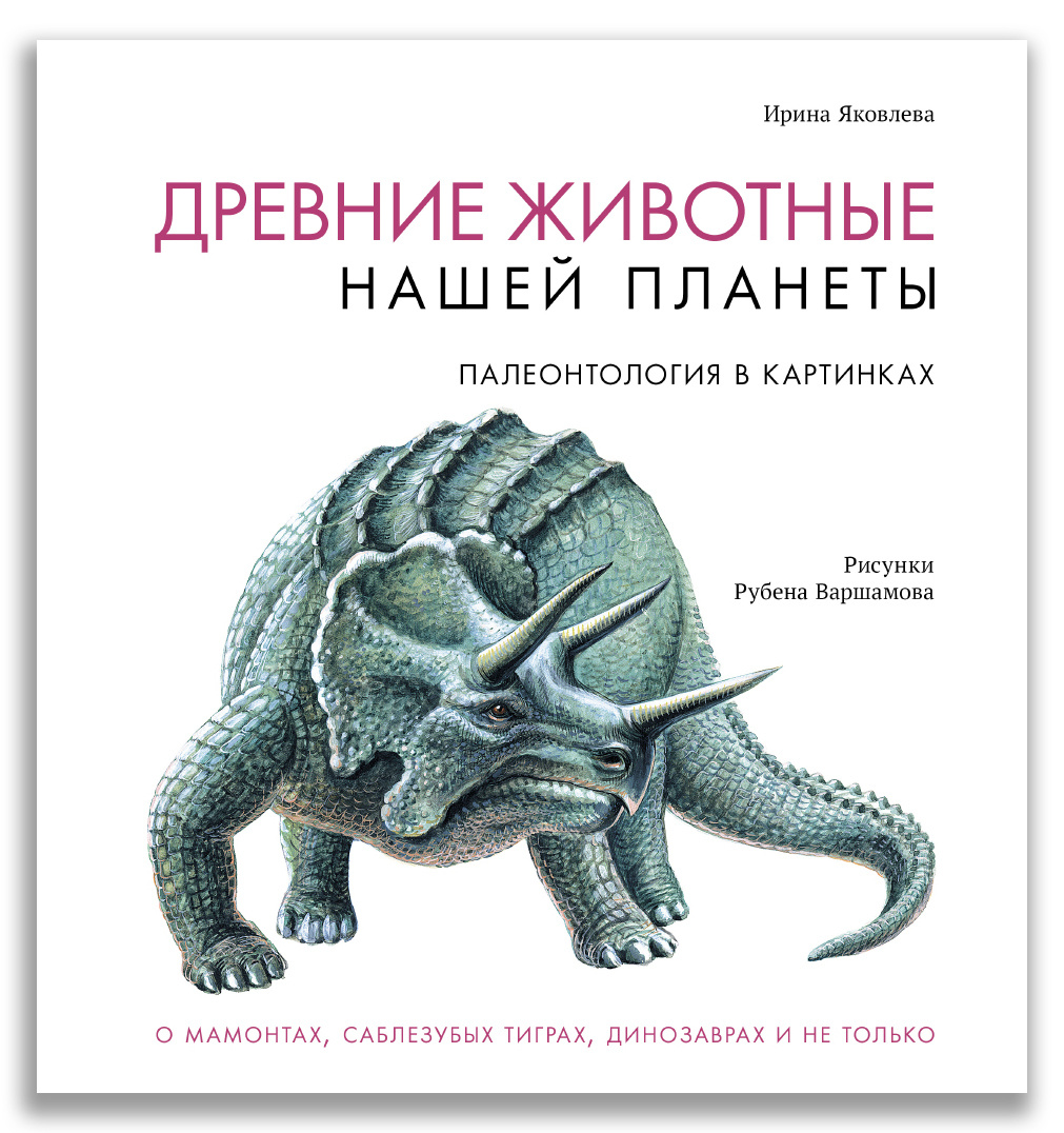 Древние животные нашей планеты. Палеонтология в картинках  #1