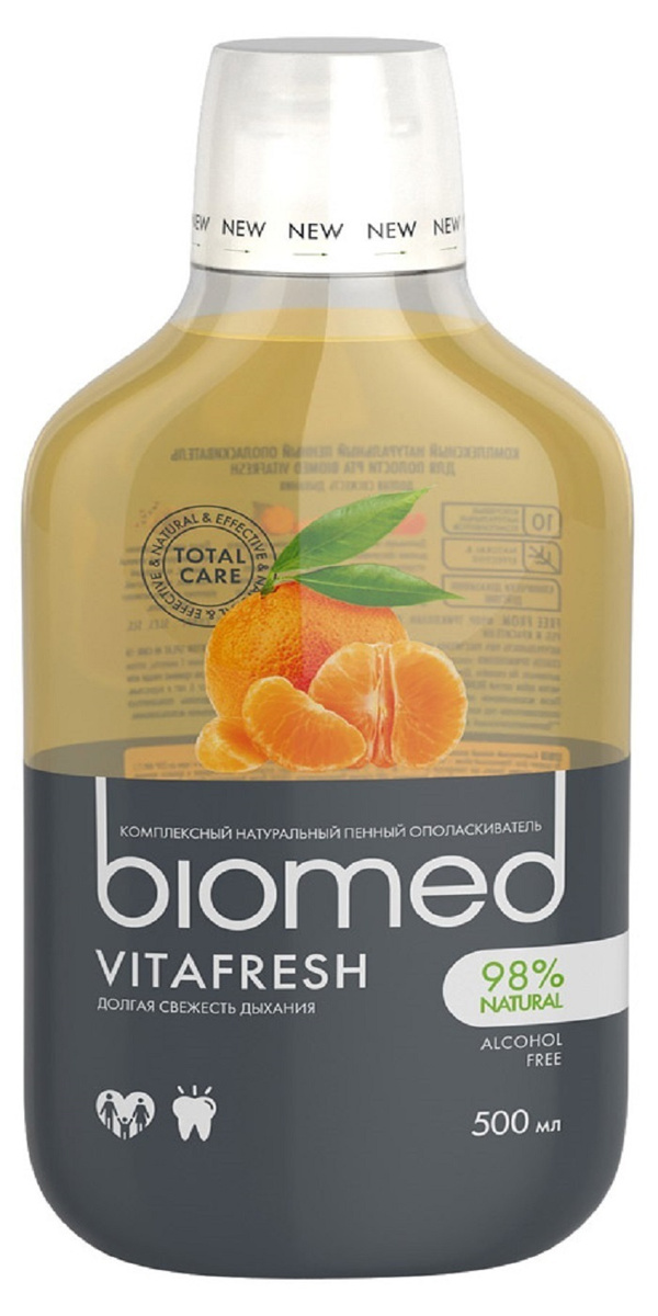 Ополаскиватель для полости рта BioMed Vitafresh, 500 мл #1