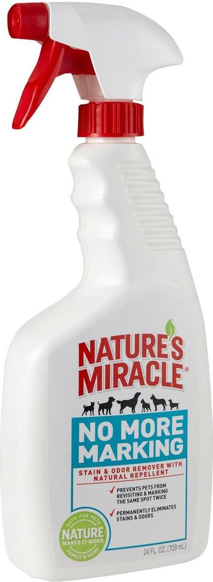 Спрей против повторных меток для собак, Nature`s Miracle No more marking, 709 мл  #1