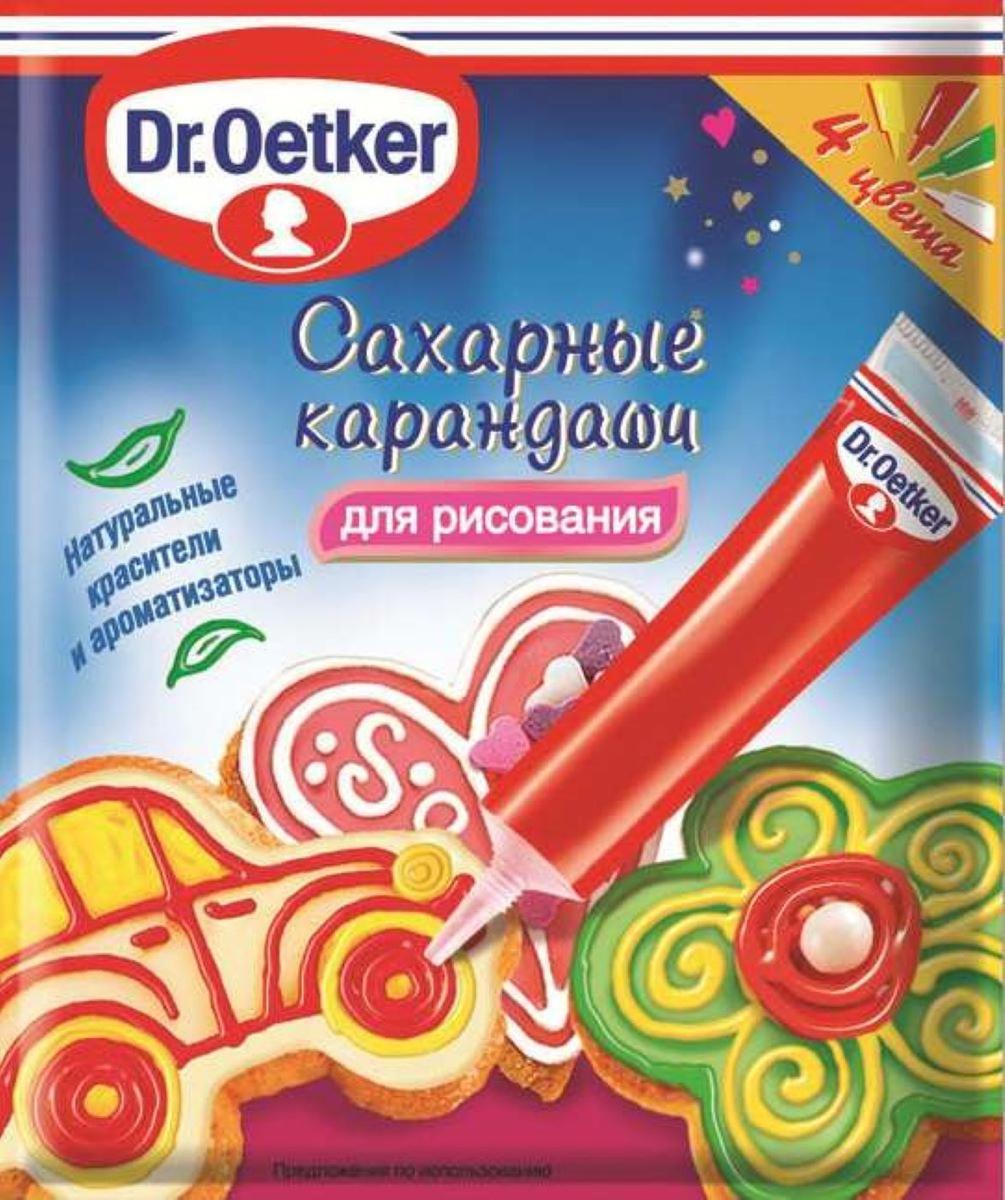 Dr.Oetker сахарные карандаши, 76 г #1