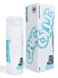 CHICOLLE / Крем-филлер для упругости кожи против потери объёма и морщин с бакучиолом, ниацинамидами и экстрактом красных водорослей, Full Face Filler Cream, 50 мл. . НОВАЯ СЕРИЯ CHICOLLE