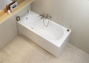 Ванна прямоугольная Cersanit NIKE 100% английский акрил 4мм 170x70 (Ультра белая). Вместе дешевле!