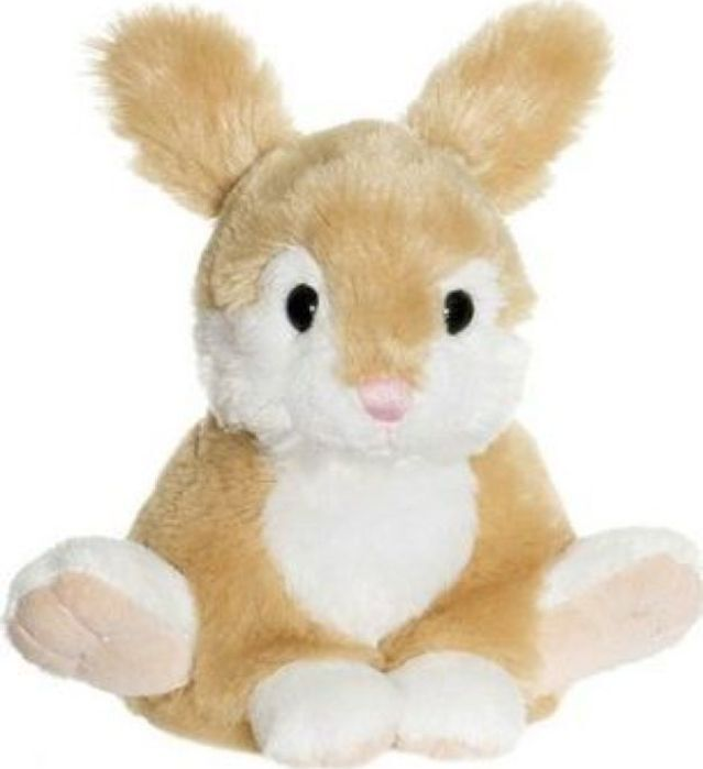 Мягкая игрушка Teddykompaniet Заяц, бежевый, 17 см