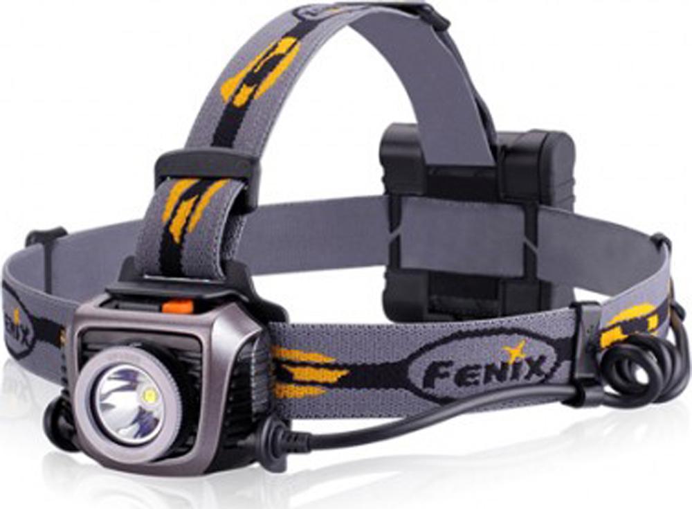 Фонарь налобный Fenix HP15 UE серый цена